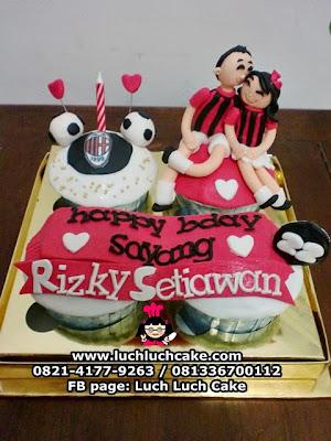 Cupcake AC MILAN Romantis