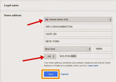 mengatur google wallet