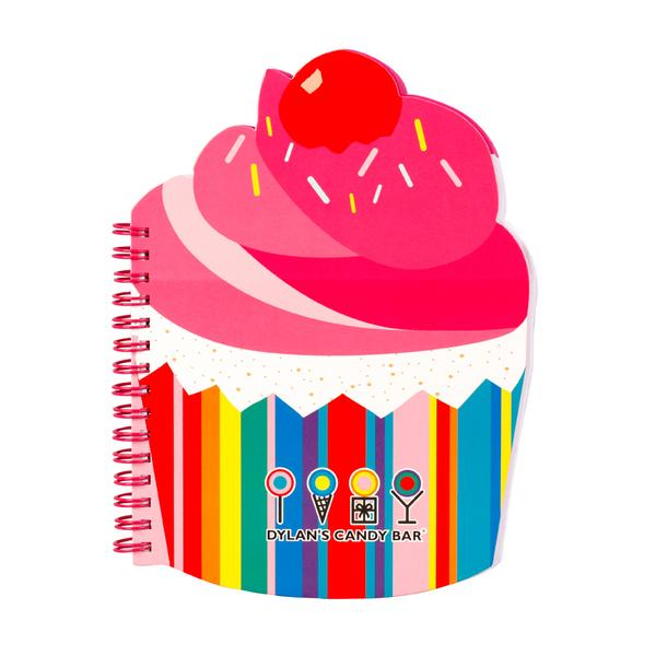 Dylan's Candy bar cupcake scented notebook