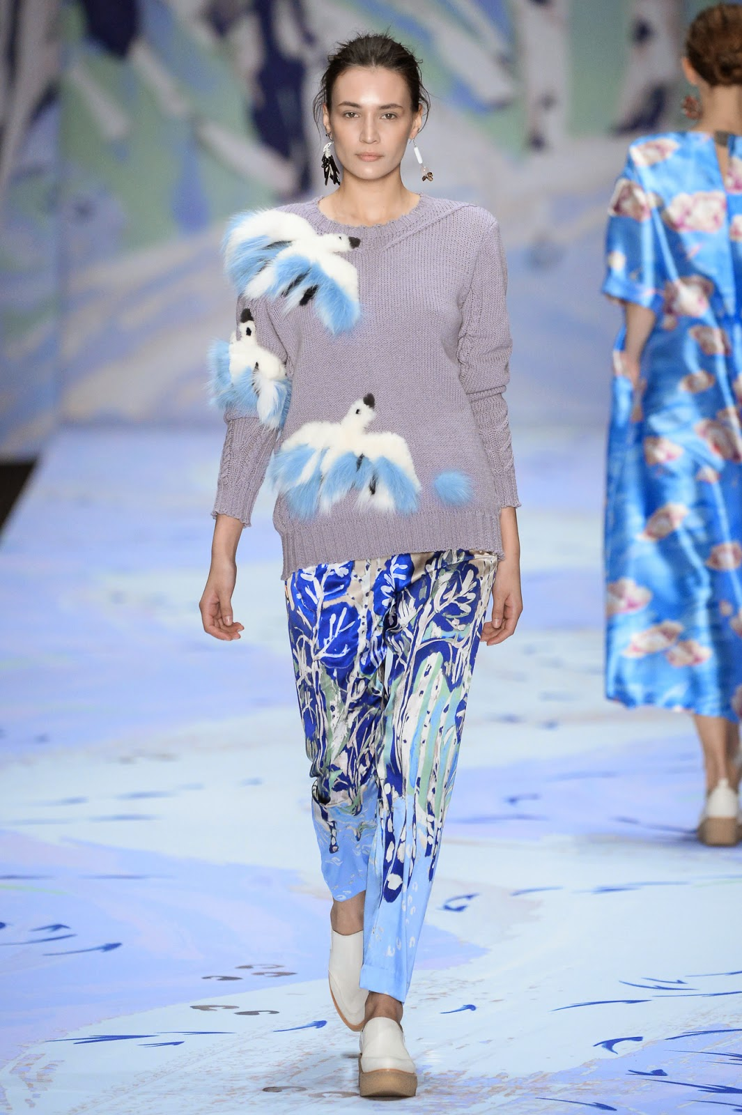 Вязание спицами что будет модно зимой 2016 999