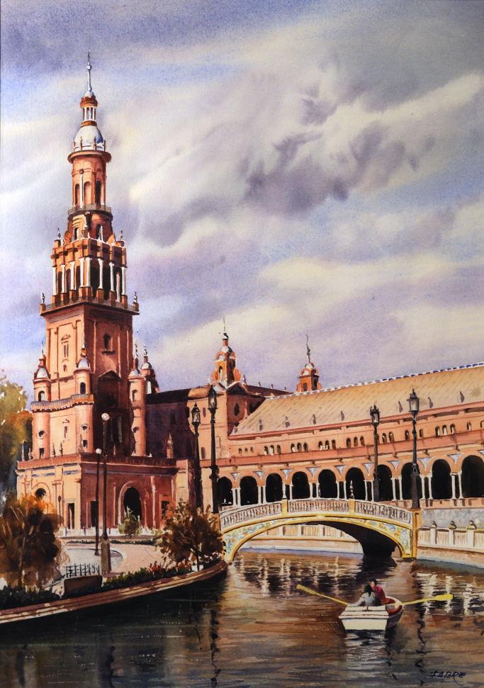 Fabre plaza de espa a sevilla for Todo pintura sevilla