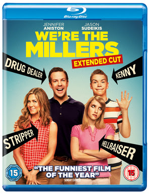 We're the Millers 2013 Hindi Dubbed Dual EXTENDED BRRip 300MB ESub