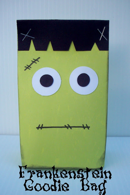 Frankenstein+finished Frankenstein Goodie Bag