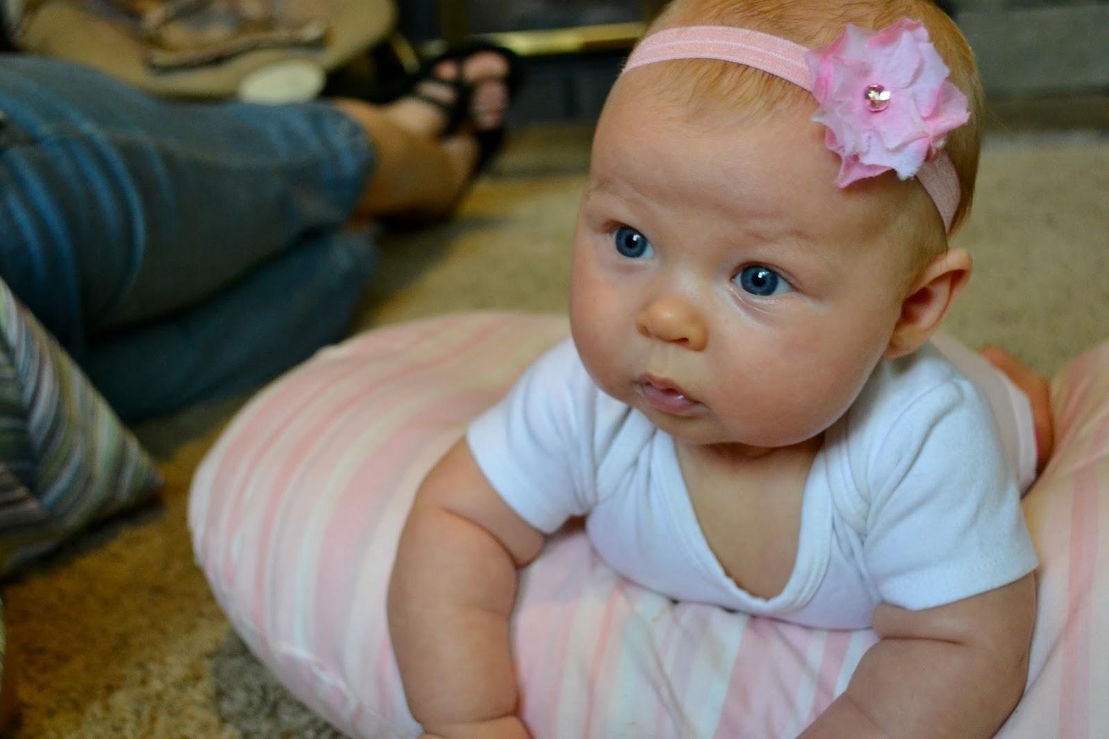 Фото головы детей в 3 месяца