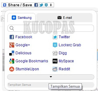 Cara Membuat Tombol Share Lockerz Di Blog