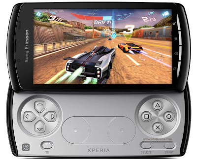 PSP Phones: Sony Ericsson Xperia Play Zeus Z1 Playstation Phone