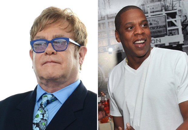 Elton John; Jay-Z (Foto: Getty Images)
