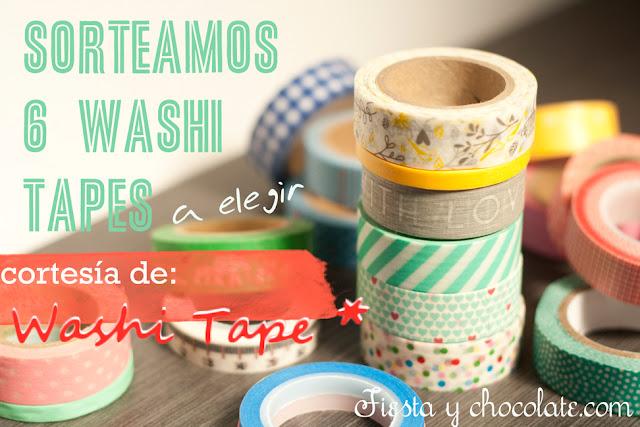sorteo washi tapes