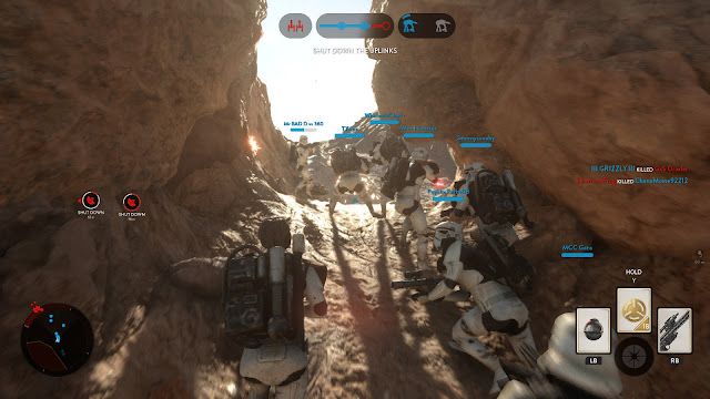 Star Wars: Battlefront tatooine stormtrooper squad