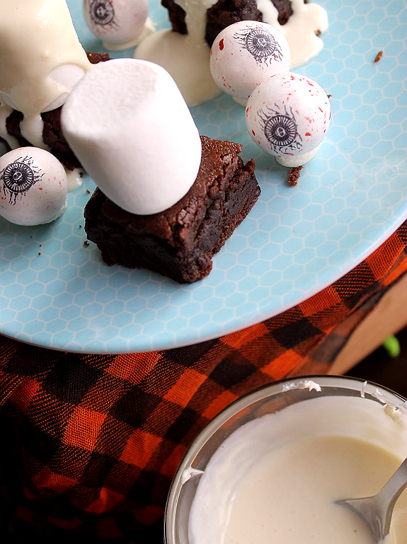 Easy Brownie Ghosts Recipe