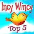 5 x Incy Wincy Top 5