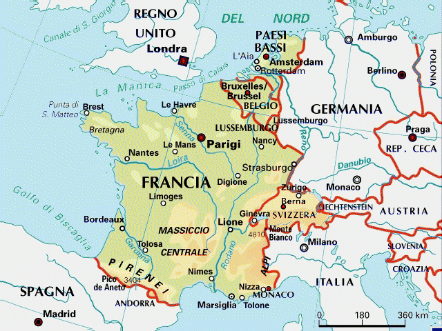Geografia Pianificare E Sviluppare Il Territorio Francese