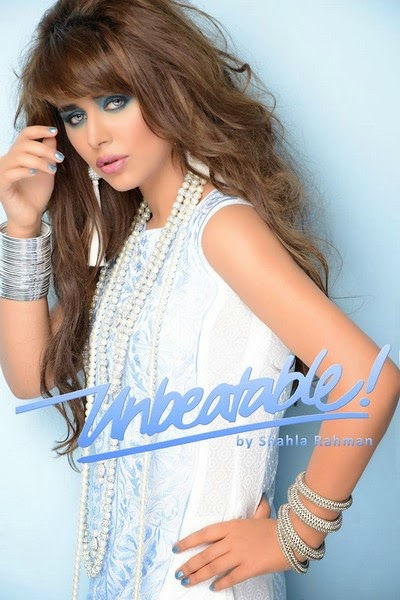 Unbeatable by Shahla Rahman Midsummer Collection 2014
