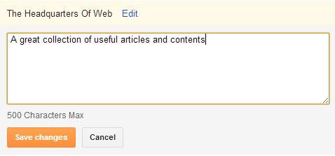 blogger title and description help image
