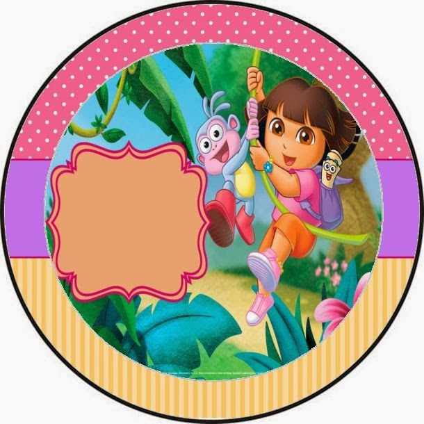 dora the explorer free printable candy bar labels and images. | is, Birthday invitations