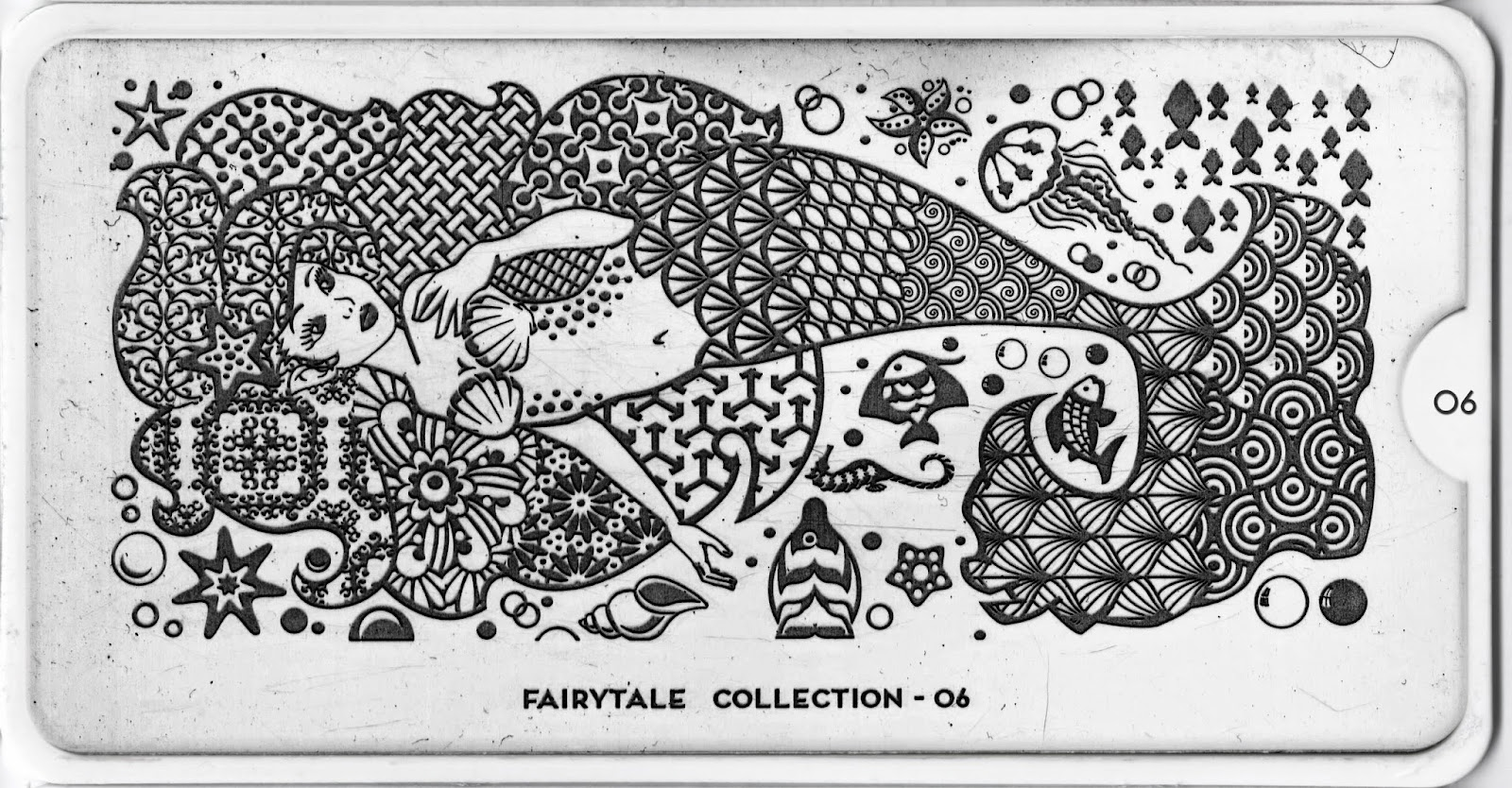 Moyou London Stamping Plate Fairytale Collection 06