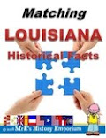 Matching Louisiana's Historical Facts