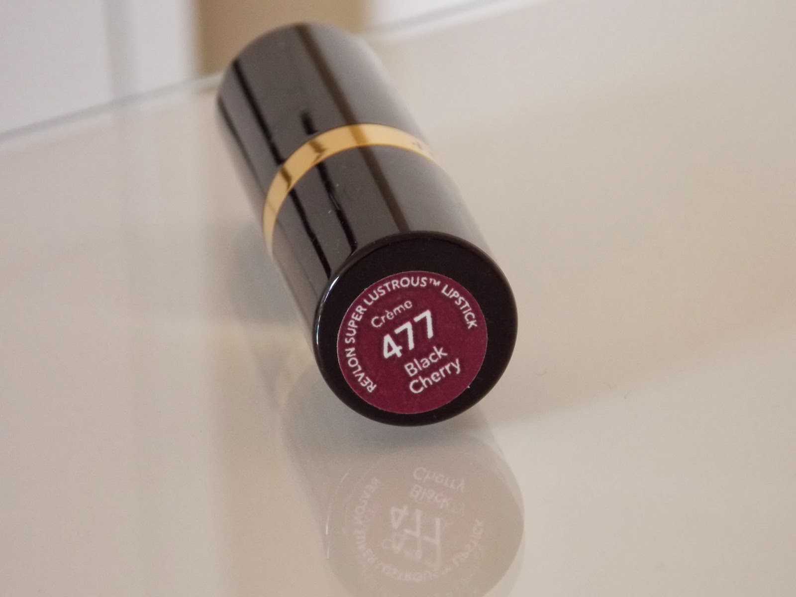 Revlon Super Lustrous Lipstick in Black Cherry