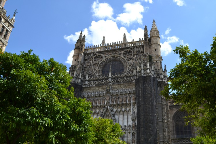 seville sevilla cathedral catedral