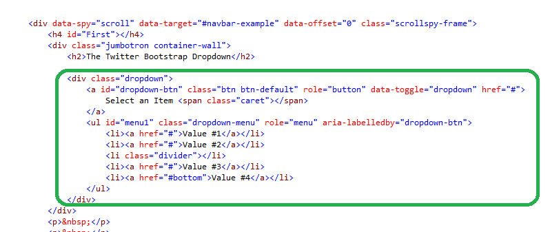 The asp net mvc club step by step how to create a dropdown with the twitter bootstrap - Jquery refresh div on click ...