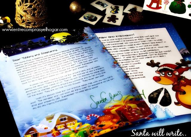 letter from santa Santa will write