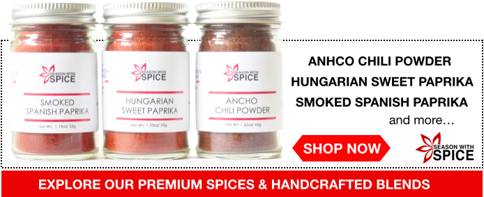 spices from SeasonWithSpice.com asian spice shop