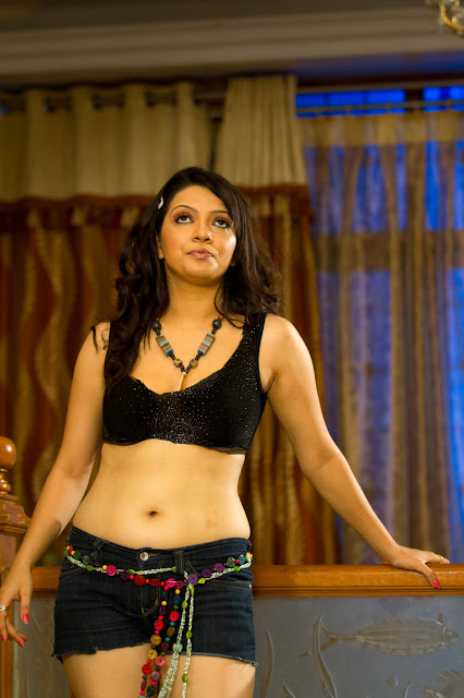 tamil actress parnithi navel show images