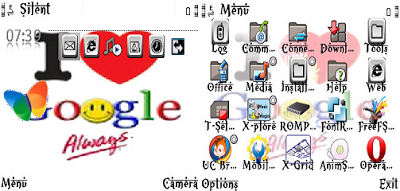 theme full icon love google