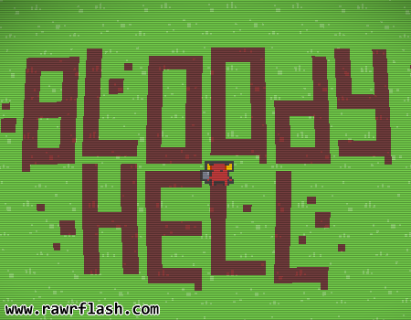 Crazy flash games, jogos loucos. Bloody Hell