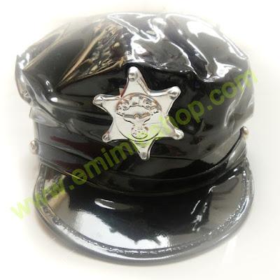 topi polisi untuk aksesoris photobooth