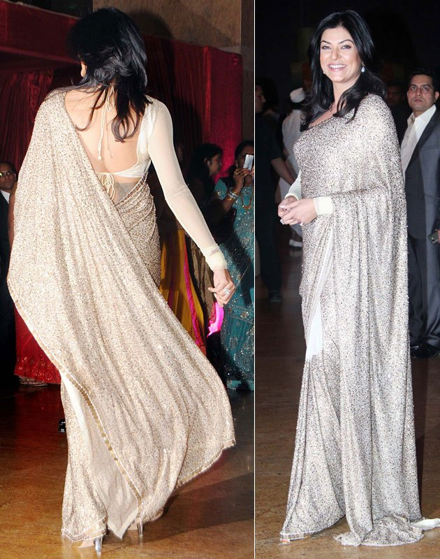 Bollywood Actress Dress Front Back View1 - Bollywood Heroines Front-Back View Hot Dresses