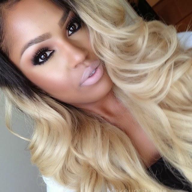 confira ent o lindas fotos de mulheres negras   cabelos loiros