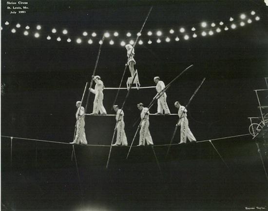 Flying Wallendas Pyramid