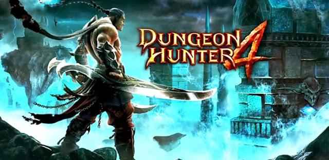 لعبة الاندرويد Dungeon Hunter 4 مهكرة