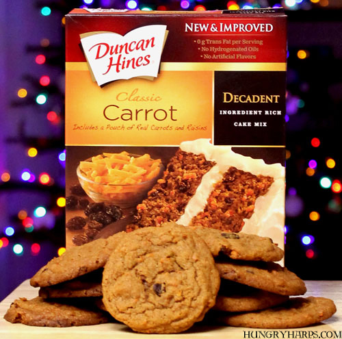 Duncan Hines Decadent Carrot Cake Cookies