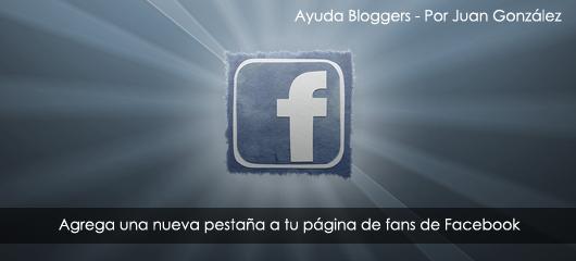 Agrega una nueva pestaña a tu página de fans de Facebook