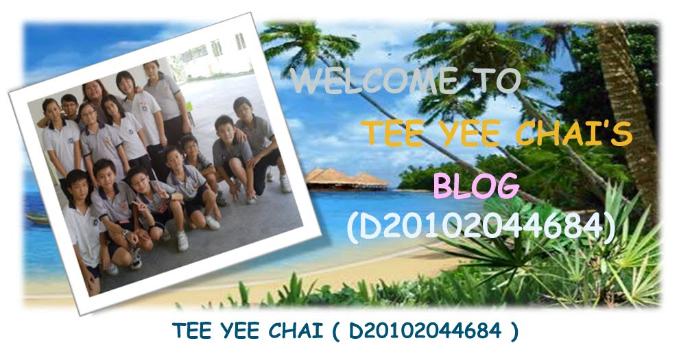 Welcome to visit Yee Chai's Blog