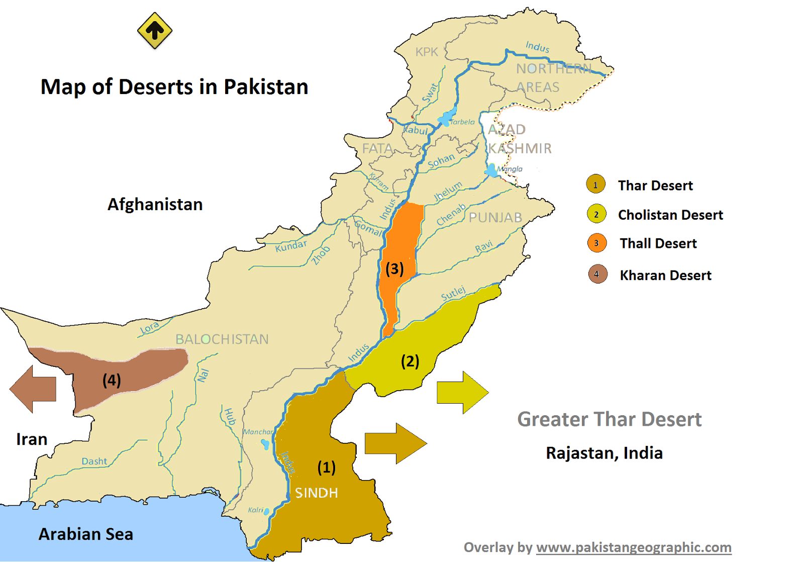 Unseen Beauty Of Pakistan: Desert Area's