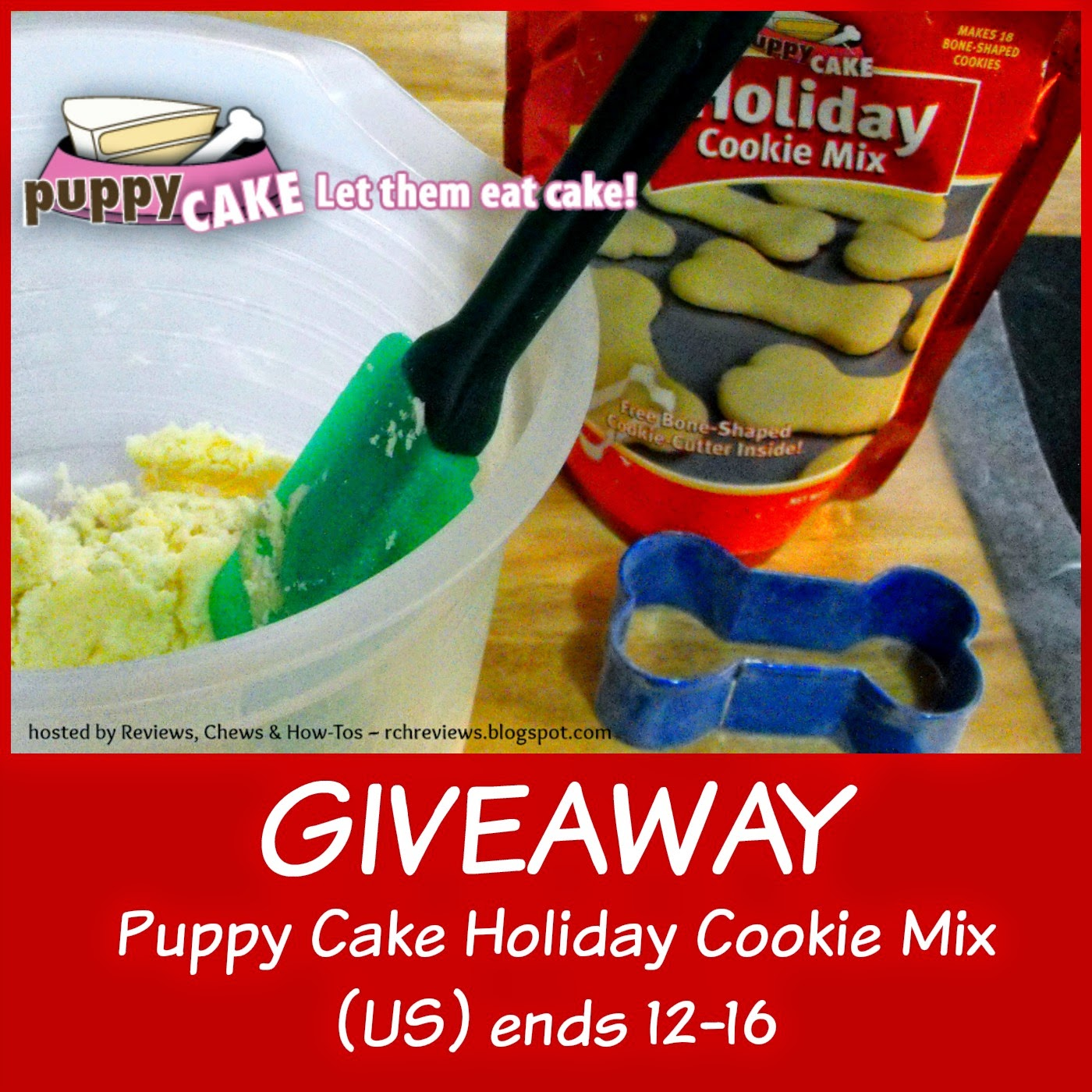 Reviews, Chews & How-Tos: Review and Giveaway: Puppy Cake ...