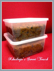 KEK BUAH KUKUS (STEAM FRUIT CAKE)