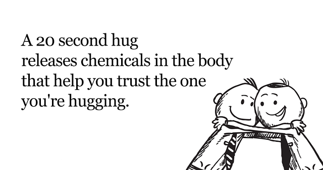 hugging is good for health