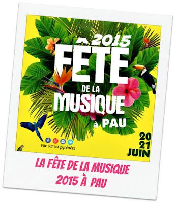 Pau : La Fête de la musique 2015