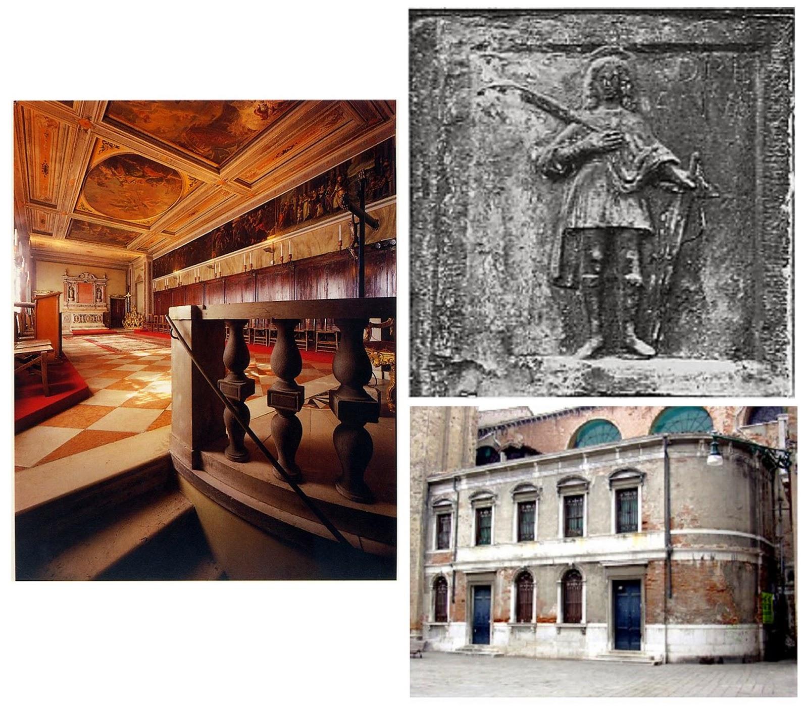 La Schola di San Adrian dei Mercadanti da Vin era uno delle oltre duecentosessanta Schole Piccole presenti in certi secoli a Venezia
