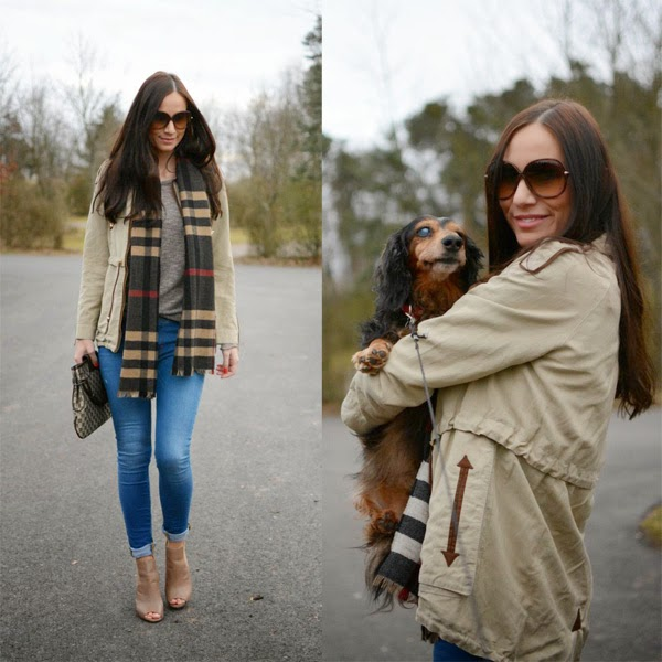 Winter_Outfit_Burberry_Scarf_Gucci_Purse_Dog_Paul