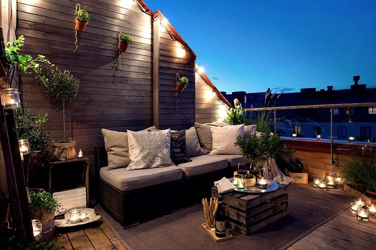 terraza atico
