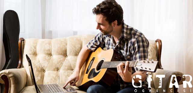 Gitar çalışmak