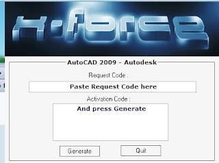 Autocad 2009 скачать keygen