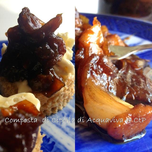 presidio slow food : composta di cipolla rossa di acquaviva