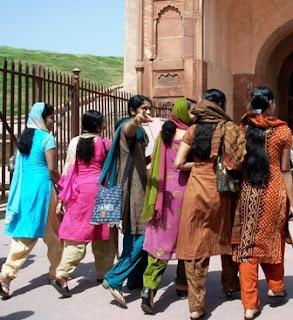 sari, India, textiles