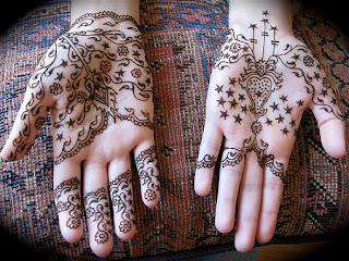 STAR DESIGNS HENNA WALLPAPERS